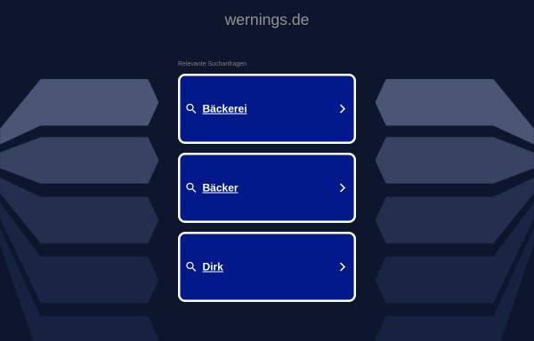 Vorschau von www.wernings.de, Wernings