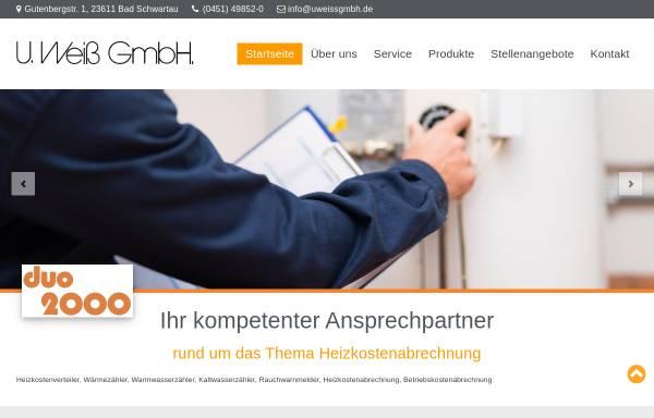 Vorschau von www.uweissgmbh.de, U.Weiß GmbH