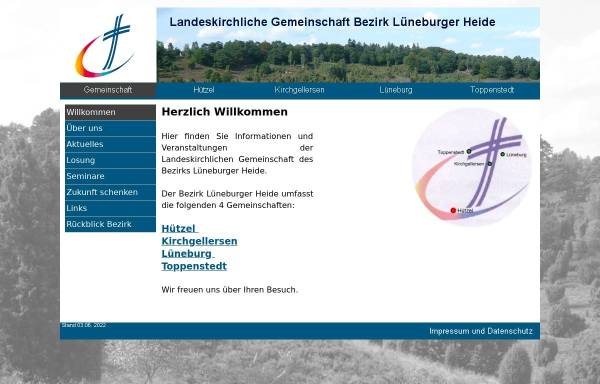 Vorschau von www.lkg-lh.de, LKG Lüneburger Heide