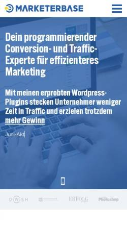 Vorschau der mobilen Webseite www.nielswagner.de, Wagner, Niels