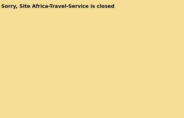 Vorschau von www.africa-travel-service.com, Africa-Travel-Service