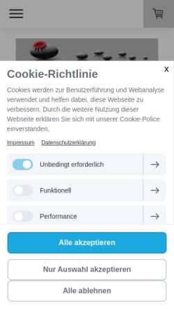 Vorschau der mobilen Webseite www.chiron-net.de, Chiron