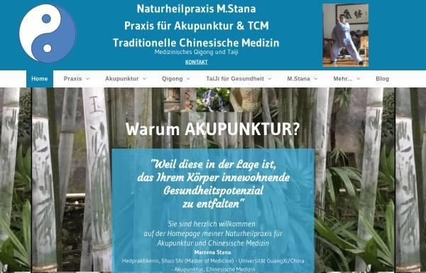 Vorschau von www.mstana-tcm.de, Marzena Stana