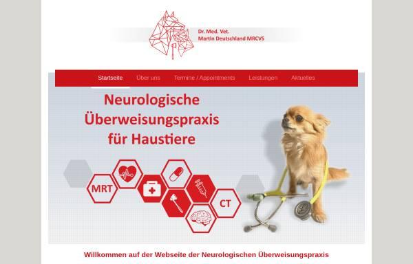 Vorschau von tierneurologie-berlin.de, Neurologische Überweisungspraxis