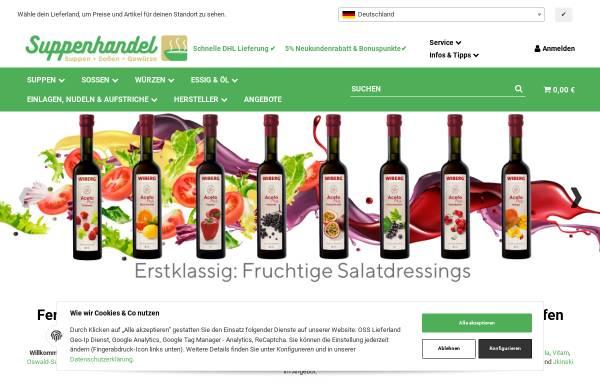 Vorschau von www.suppenhandel.de, Suppenhandel.de, Mangstl GmbH