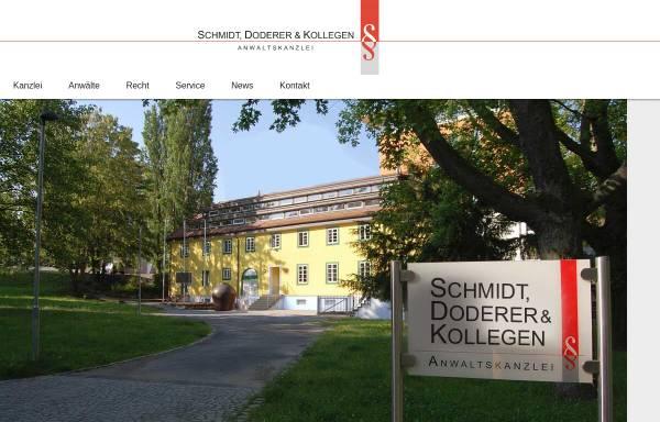 Vorschau von www.kanzlei-ksd.de, Kanzlei Dr. Krüger, Schmidt & Doderer
