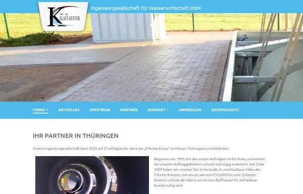 Vorschau von www.igfw.de, Ingenieurgesellschaft für Wasserwirtschaft mbH