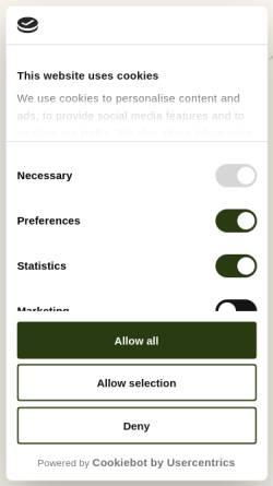 Vorschau der mobilen Webseite www.pefc.lu, PEFC Luxemburg a.s.b.l. - Fir eis Bëscher vu muer