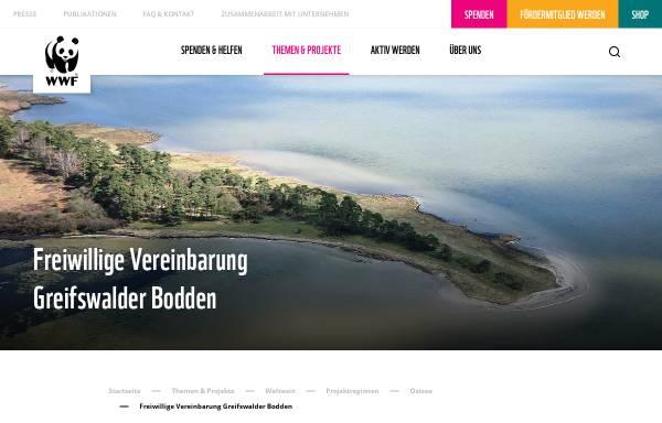 Vorschau von www.wassersport-im-bodden.de, Wassersport im Bodden