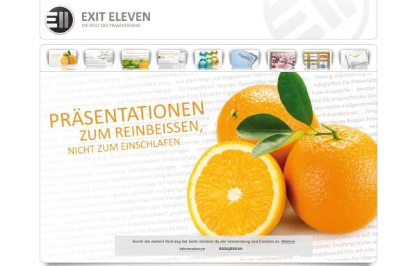 Vorschau von www.exiteleven.de, Exit Eleven