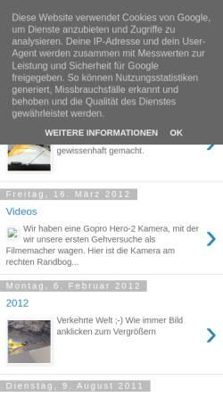 Vorschau der mobilen Webseite rans-s-9.blogspot.com, Bautagebuch einer Rans S 9
