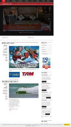 Vorschau der mobilen Webseite www.kite-brazil.com, Kite Brazil