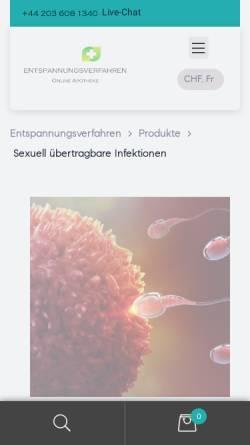 Vorschau der mobilen Webseite www.proviteahuman24h.de, Pro vitea human 24h