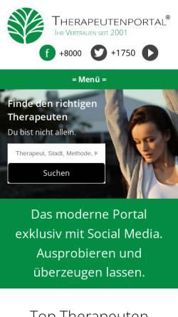Vorschau der mobilen Webseite www.alternativ-heilen.net, Alternativ-Heilen