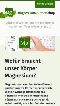 Vorschau der mobilen Webseite heilsame-informationen.de, Carpe Diem