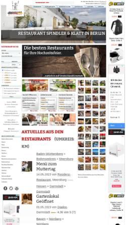 Vorschau der mobilen Webseite www.deutschlandgourmet.info, Deutschland Gourmet