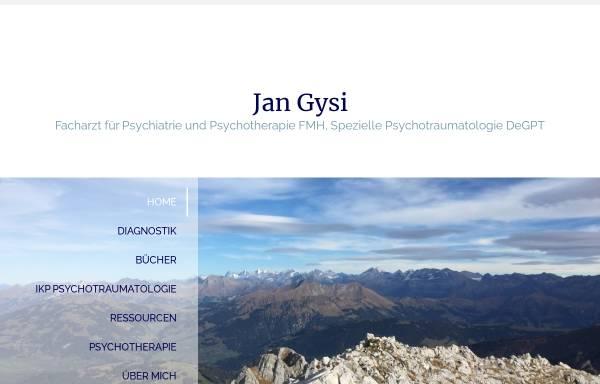Vorschau von www.jangysi.ch, Gysi, Dr. med. Jan
