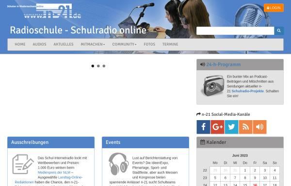 Vorschau von schul-internetradio.org, Radioschule, Schulradio online - Schulen in Niedersachsen online e.V.