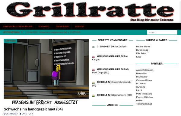 Vorschau von grillratte.de, Grillratte