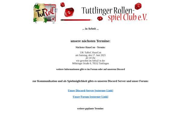 Vorschau von www.turoc.de, Tuttlinger Rollenspiel Club e.V.