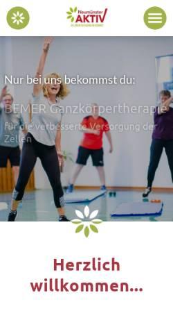 Vorschau der mobilen Webseite www.stoerpark.de, Störpark Neumünster