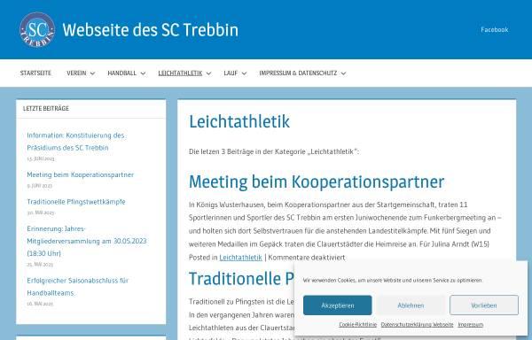 Vorschau von sc-trebbin.de, SC Trebbin - Abteilung Leichtathletik