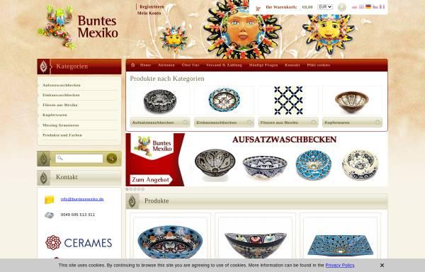 Vorschau von www.buntesmexiko.de, Buntes Mexiko