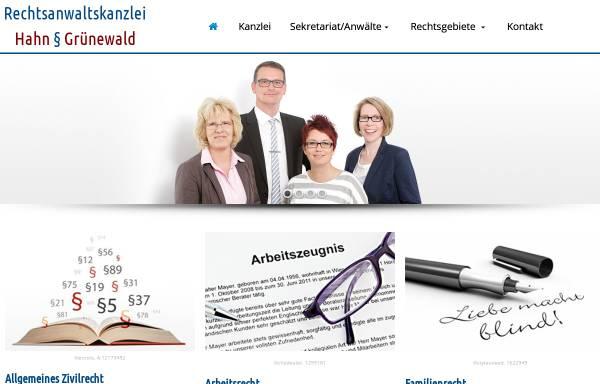 Vorschau von rechtsanwaltskanzlei-peine.de, Rechtsanwaltskanzlei Peine - Hahn & Grünewald GbR