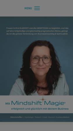 Vorschau der mobilen Webseite www.deep-coaching.de, Deep Coaching
