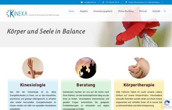 Vorschau von kineka.ch, Kinesiologie Kaufmann