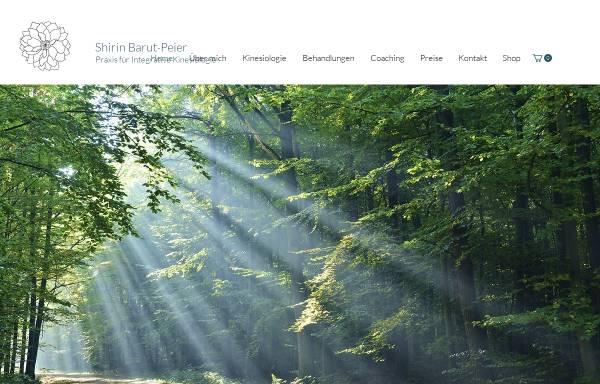 Vorschau von www.kinesiologie-barut.ch, Praxis für Integrative Kinesiologie Shirin Barut-Peier