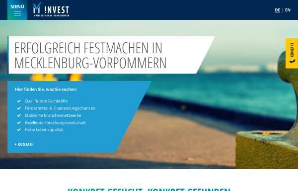 Vorschau von www.investguide-mv.de, Investguide MV