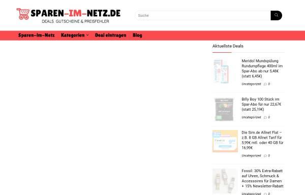 Vorschau von www.sparen-im-netz.de, Sparen-im-Netz.de