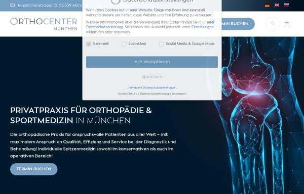 Vorschau von ortho-center.eu, OrthoCenter Professor Lill