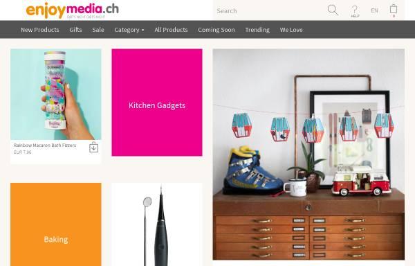 Vorschau von www.enjoymedia.ch, Enjoymedia.ch