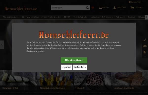 Vorschau von www.hornschleiferei.de, Hornschleiferei Frederick Range