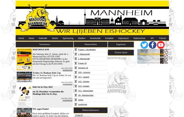 Vorschau von www.mad-dogs-mannheim.de, Mad Dogs Mannheim