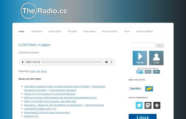 Vorschau von theradio.cc, The Radio CC