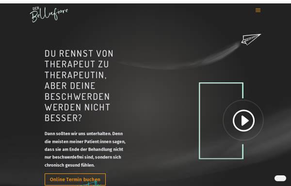 Vorschau von www.osteopathie-bellafiore.de, Osteopathie Bellafiore