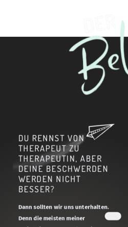 Vorschau der mobilen Webseite www.osteopathie-bellafiore.de, Osteopathie Bellafiore