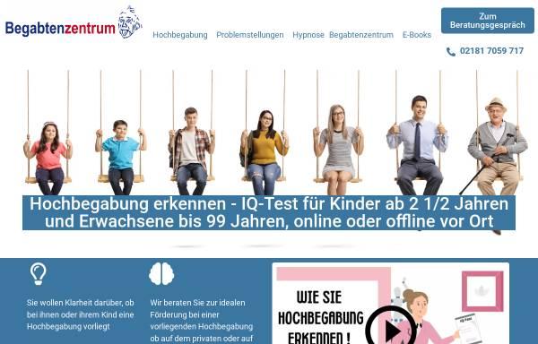 Vorschau von www.begabtenzentrum.de, Begabtenzentrum Diana Haese