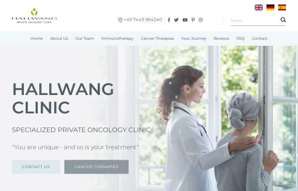 Vorschau von www.hallwang-clinic.com, Hallwang Clinic GmbH