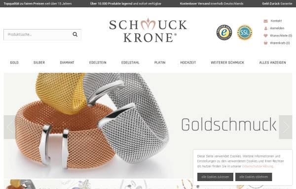 Vorschau von www.schmuck-krone.de, Schmuck Krone, Denys Mansarliysky