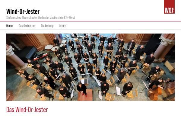 Vorschau von woj-berlin.de, Wind-Or-Jester - Sinfonisches Blasorchester Berlin