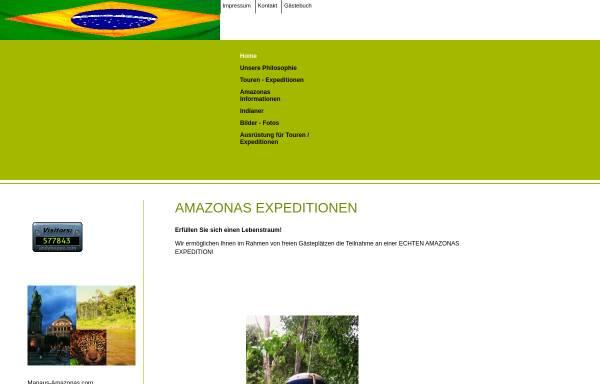 Vorschau von www.amazonasexpedition.eu, Amazonasexpeditionen