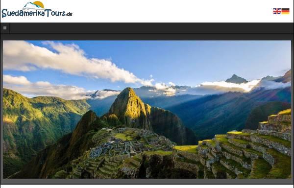 Vorschau von www.suedamerikatours.de, Südamerika Tours