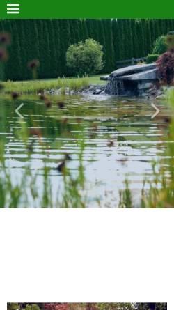 Vorschau der mobilen Webseite galabau-voelkel.de, Garten- und Landschaftsbau Völkel