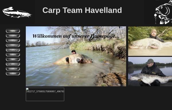 Vorschau von www.carp-team-havelland.de, Carp Team Havelland