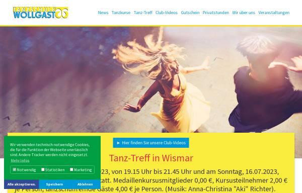 Vorschau von www.tanzschule-wollgast.de, Tanzschule Wollgast