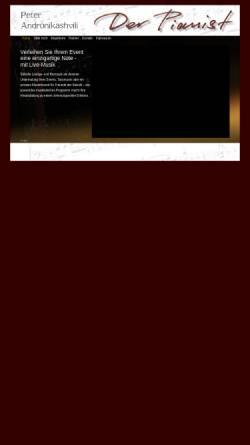 Vorschau der mobilen Webseite www.der-pianist.net, Der Pianist